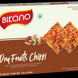 Bikano Dry Fruits Chikki 200g