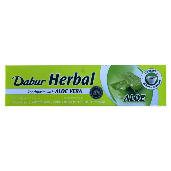 Dabur Herbal Toothpaste with ALOE VERA (100ML)