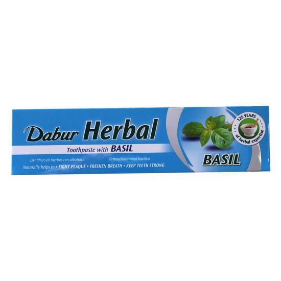Dabur Herbal Basil Toothpaste (100ML)