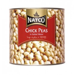 Natco Chick Peas In Salted Water 2.5KG