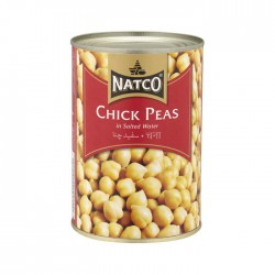 Natco Chick Peas In Salted Water 400G