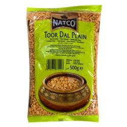 Natco Toor Dal Plain (Split Chickpeas) (500g)