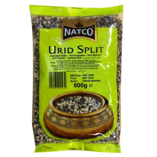 Natco Black Urid Split Beans (500g)