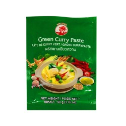 Thai Green Curry Paste Cock Brand 50G
