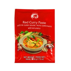 Thai red curry paste Cock Brand 50g