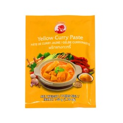 Thai Yellow Curry Paste Cock Brand 50G