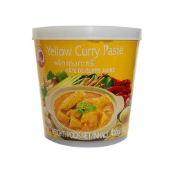Thai Yellow Curry Paste Cock Brand 400G