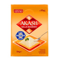 Akash Sella Basmati Rice 5Kg