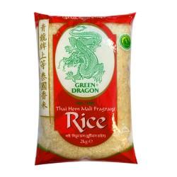 Green Dragon Thai Jasmine Rice 2Kg