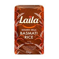 Laila Golden Sella Basmati Rice 5KG