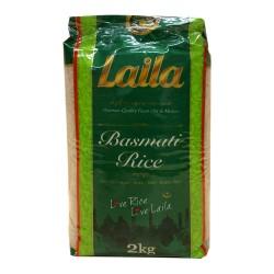 Laila Basmati Rice 2KG