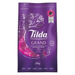 Tilda Grand Extra Long Basmati Rice (20Kg)