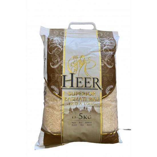 Heer Extra Long Basmati Rice (5Kg)