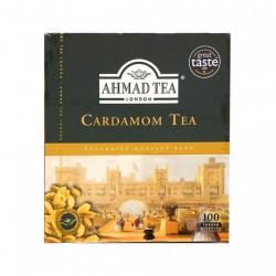 AHMAD TEA CARDAMOM TEA BLACK TEA WITH CARDAM 100X2G