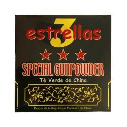3 STARS Green tea sprinkled with gunpowder 500g.