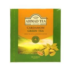 AHMAD TEA CARDAMOM GREEN TEA 100X2G