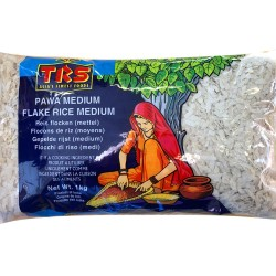 TRS Pawa Medium Flake Rice Medium (Poha Rice) 1KG