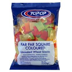 Topop Far Far Square Coloured (Uncooked Wheat Snacks) 250G