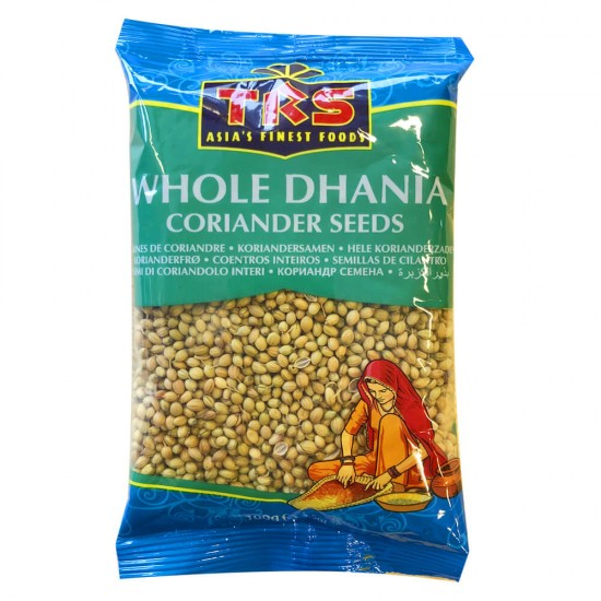 TRS Whole Coriander (Dhania Seeds) 100G