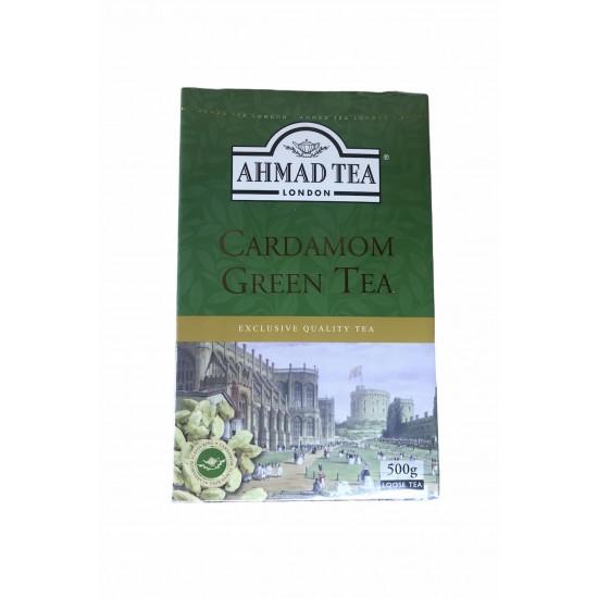 AHMAD TEA CARDAMOM GREEN LOOSE TEA 500G