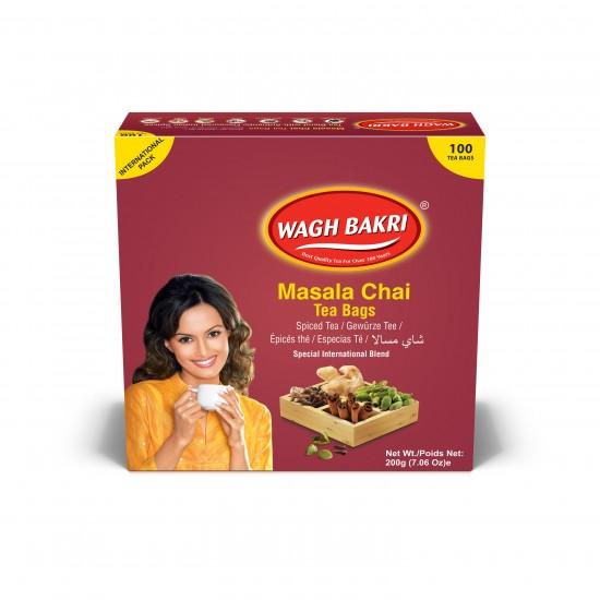 Wagh Bakri Masala Chai Tea (100 Bags)