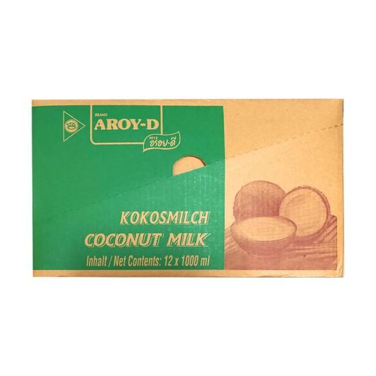 Aroy-D Coconut Milk 12 X 1000ml
