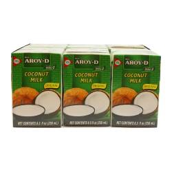 Aroy-D Coconut Milk 6 X 250ml